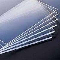 Pannello plexiglass trasparente